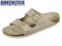 Birkenstock Arizona 1008800 washed metallic rose Velourleder washed