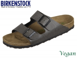 Birkenstock Arizona 1009367 anthracite Birkoflor Pull Up Vegan