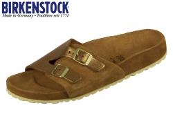 Birkenstock Vaduz Exquisite 1008512 mink EXQ Velourleder allover