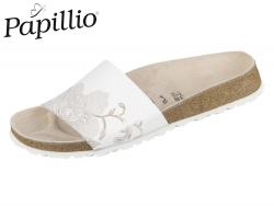 Papillio Cora 1009087 ornament white rosegold Naturleder