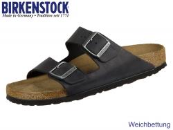 Birkenstock Arizona WB 752483 black Nubuk Oiled