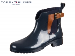 Tommy Hilfiger Oxley 2Z2 FW56822108-403 midnight wintercognac Leather - Rubber