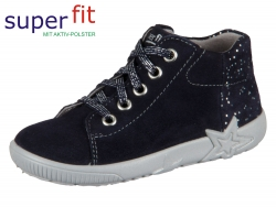 SuperFit Starlight 3-09440-80 blau Velour Effektleder