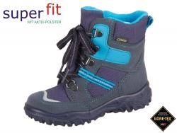 SuperFit HUSKY1 3-09043-80 blau Camoscio Textil