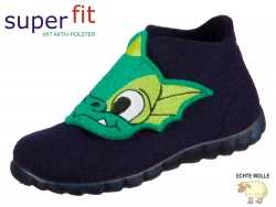 SuperFit Happy 8-00295-81 ocean komb Wollfilz