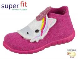 SuperFit HAPPY 3-00295-56 rosa Wollfilz