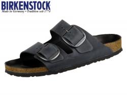 Birkenstock Arizona Big Buckle 1012205 black Fettleder