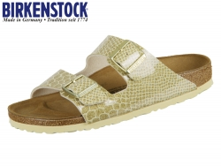Birkenstock Arizona 1011765 gold Magic Snake