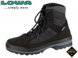 Lowa Isarco II GTX MID 410545-0999 schwarz Leder-Textil