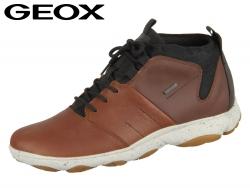 Geox Nebula U742VA 046EK C6G6N brown cotton cognac