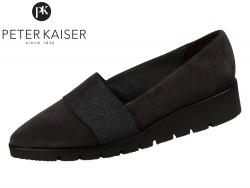 Peter Kaiser Nona 20215-267 carbon Suede Gummizug Wool