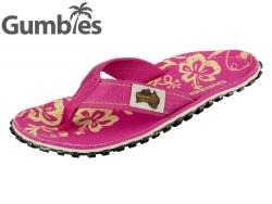 Gumbies GUMBIES Australian Shoes GUMBIES mh pink hibiscus