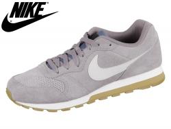 NIKE Nike MD Runner 2 Suede AQ9211-002 gun smoke vast grey black