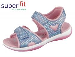 SuperFit SUNNY 4-09128-80 blau rosa Effektleder Textil