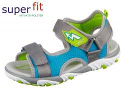 SuperFit MIKE 2 4-09172-26 grau-blau Textil