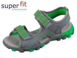 superfit HIKE 4-00451-20 grau Tecno Textil