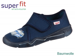 superfit Benny 8-00298-80 blau Textil