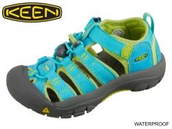 Keen Newport H2 1012294-1012314 hawaiian blue green glow