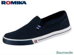 Romika Laser 20002-70-500 blau Leinen
