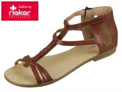 Rieker 64225-24 amaretto Clarino