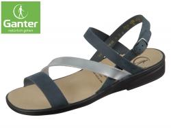 Ganter Sonnica 20 2862-3076 ocean silber Sportnubuk Softrind