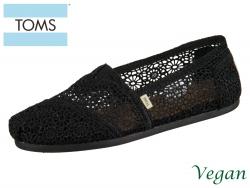 TOMS Classic 10007853 black black moroccan Crochet