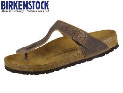 Birkenstock Gizeh 943811 oiled tabacco brown Fettleder