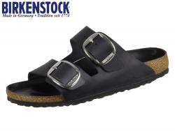 Birkenstock Arizona Big Buckle 1011075 black Fettleder