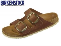 Birkenstock Arizona Big Buckle 1011073 cognac Fettleder