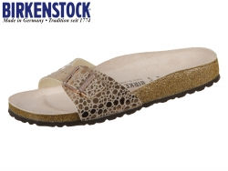 Birkenstock Madrid 1006693 metallic stones copper Birkoflor