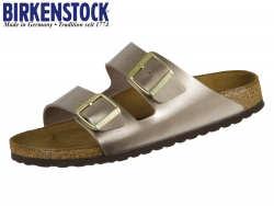 Birkenstock Arizona 1012972 electric metallic taupe Birkoflor