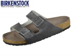 Birkenstock Arizona 1013045 vintage anthracite Leder