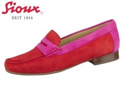 Sioux Corbina 63245 fire pink Camoscia