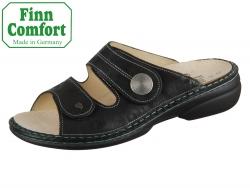 Finn Comfort Sansibar 02550-644144 nero Chenile
