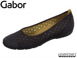 Gabor 24.169-16 nightblue Nubuk Lavato