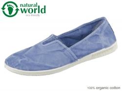 natural world 615E-690 celeste Baumwolle organic cotton