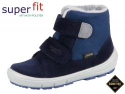 SuperFit Groovy 3-09308-80 blau grau Velour Textil