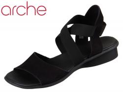 Arche Satia Satia black Calf Nubuck