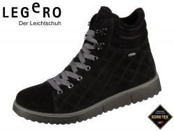 Legero CAMPANIA 5-00653-00 schwarz Velour