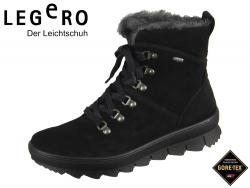 Legero NOVARA 5-00503-00 schwarz Velour