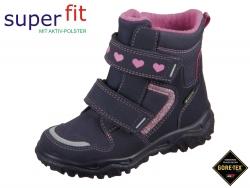 SuperFit Husky1 5-09045-80 blau rosa Camoscio Textil
