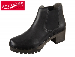 Softclox Isabell 3358-22 schwarz washed Nappa
