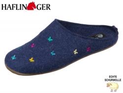 Haflinger Everest Farfalline 484014-72 jeans Wolle