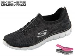 Skechers Empire-Sharp Thinking 12418-BKW black-white