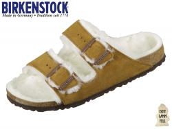 Birkenstock Arizona Sheepskin 1001135 mink VL Sheepskin