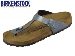 Birkenstock Gizeh 1014288 iocy metallic anthracite BF
