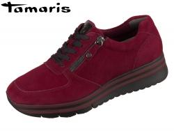 Tamaris 1-23740-33-538 merlot Suede