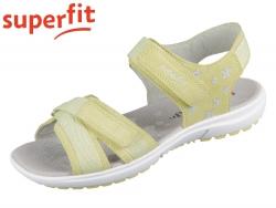 superfit RAINBOW 0-606201-6000 gelb Velour Textil