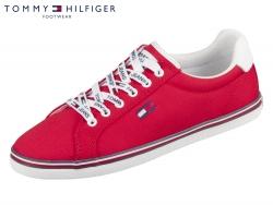 Tommy Hilfiger Essential Lace Up Sneaker EN00786-XNL Deep Crimson