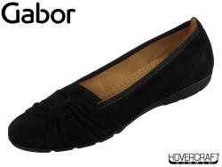 Gabor 44.167-17 schwarz Samtchevreau